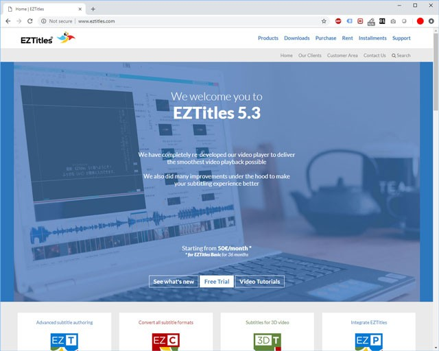 EzTitles Website